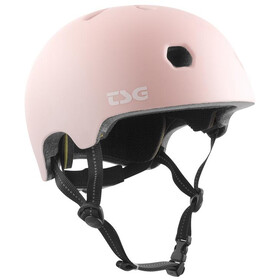 TSG Meta Solid Color Casque, satin macho pink